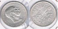 AUSTRIA FRANCISCO JOSE I 2 CORONAS 1913 PLATA SILVER S2 - Austria