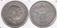 AUSTRIA FRANCISCO JOSE I CORONA 1914 PLATA SILVER S. - Austria