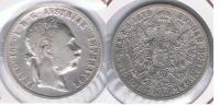 AUSTRIA IMPERIO FLORIN 1879 PLATA SILVER S - Austria