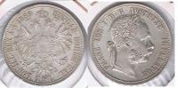 AUSTRIA IMPERIO FLORIN 1889 PLATA SILVER S - Austria