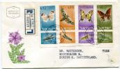 ISRAEL ENVELOPPE 1er JOUR RECOMMANDEE DEPART JERUSALEM 15-12-65 POUR LA SUISSE - Covers & Documents