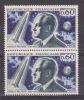 FRANCE / 1967 / Y&T N° 1526 ** (2 TP En Paire) : Esnault-Pelterie - Gomme D´origine Intacte - Unused Stamps