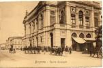 Lombardia-bergamo-teatro Donizetti Veduta Passaggio Militari Carri Animata Primi 900 - Bergamo