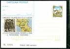 INTERO POSTALE-INTERI POSTALI I.P.Z.S.-C.P. IPZS -   -SANTI - SAN FRANCESCO - VIA FRANCIGENA - - 6. 1946-.. Repubblica