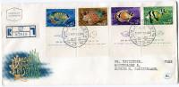 ISRAEL ENVELOPPE 1er JOUR RECOMMANDEE DEPART ELAT 26-12-62 POUR LA SUISSE - Covers & Documents