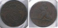 BELGICA 5  CENTS FRANC 1837  S - 03. 5 Céntimos