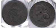 BRASIL 20 REIS 1869 S - Brasil