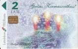 LATVIA - Christmas, Tirage 50000, Exp.date 31/12/98, Used - Latvia