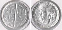 BRASIL 2000 REIS 1935 PLATA SILVER S - Brasil