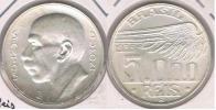 BRASIL 5000 REIS 1936 PLATA SILVER S - Brasil