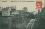 60 ABANCOURT / La Gare, Arrivée Des Trains Sur Hennicourt / - Autres Communes