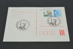 TR387- Card  Hungaria Magyar Posta -1985-aprilis 26- 50 Years A Ganz-Mavag Kando - Postwaardestukken