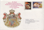 Postal History Cover: Luxembourg Rodent Stamp On Cover - Rodents