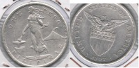 FILIPINAS USA PESO 1907 PLATA SILVER S - Filipinas