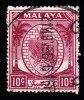 MALAYA Negri Sembilan - Scott #46 Coat Of Arms / Used Stamp - Negri Sembilan