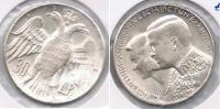 GRECIA 30 DRACMA  1964 BODA PLATA SILVER S - Grecia