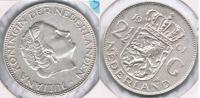 HOLANDA 2 Y MEDIO GULDEN 1961 PLATA SILVER S2 - [ 3] 1815-… : Reino De Países Bajos