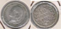 HOLANDA 10 CENTS GULDEN 1897 PLATA SILVER S - 1948-1980 : Juliana