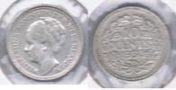 HOLANDA 10 CENTS GULDEN 1930 PLATA SILVER S - 1948-1980 : Juliana