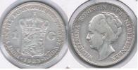HOLANDA GULDEN 1923 PLATA SILVER S - 1948-1980 : Juliana