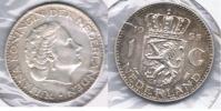 HOLANDA GULDEN 1955 PLATA SILVER S - 1948-1980 : Juliana