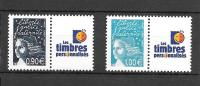 Pe62 Timbres Personnalisés Marianne De Luquet N°3688M Et 3688N - Gepersonaliseerde Postzegels