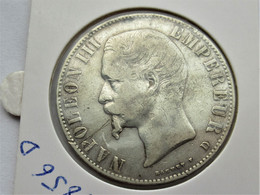 Frankrijk 5 Francs, 1856 D - Frankrijk