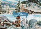 Germany Gruss Aus Garmisch-Partenkirchen Multi View With Ski Jum