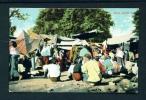 BURMA  -  A Bazaar  Unused Vintage Postcard As Scan - Myanmar (Burma)