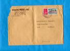 MARCOPHILIE-lettre-de Grève 1974-affranchissement Oblitéré -Chambre De Commer ANNECY-Pour MARSEILLE - Marcophilie (Lettres)