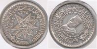 MARRUECOS EMPIRE CHERIFIEN 500 FRANCOS 1956 PLATA SILVER S. PRECIOSA - Marruecos