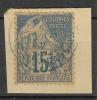 #89# COLONIES GENERALES N° 51 Oblitéré En Bleu Brazzaville (Congo)  RARE - Alphee Dubois