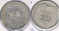 POLONIA 200 ZLOTI 1974 PLATA SILVER S - Polonia