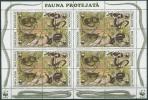Moldawien 1993 Naturschutz: Schlangen 50/53 Kleinbogen Postfrisch - Moldawien (Moldau)