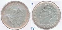 RUMANIA 500 LEI 1944 PLATA SILVER S2 - Rumania