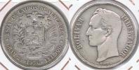 VENEZUELA BOLIVAR 1936 PLATA SILVER S2 - Venezuela
