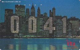 Télécarte Japon - ETATS-UNIS / NEW YORK - Telephone ITJ 0041 - USA Related Japan Phonecard Telefonkarte - Japan