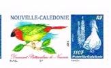 Nouvelle Caledonie Timbre Personnalise Timbre A Moi Prive BUNEL Oiseau Diamant Psittaculaire Noumea RR - Nouvelle-Calédonie
