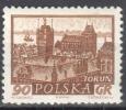 Poland 1961 - Historic Towns -  Mi 1229 - MNH (**) - Nuevos