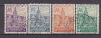 SBZ 162 AX, 163 AY, 164 AX, 165 AY, Gestempelt, Leipziger Messe - Zona Sovietica