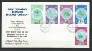 "Nles-Hebrides FDC YT 495...507 ""  Cartographie "" 1977-78 Neuf** Enveloppe Officielle 1er Jour - English Legend"