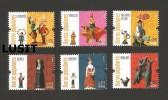 PORTUGAL 2015 POPULAR CLAY FIGURINES POTERY Toys Dolls BARCELOS V.N DE GAIA DONKEY HORSE CHEVAUX PIG  Cochon COCHONS - Posta Aerea