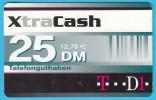 XtraCash - 25. DM  ( Gerrmany Prepaid Card ) GSM Remote Prepayee Carte * Deutschland - [2] Prepaid