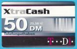 XtraCash - 50. DM  ( Gerrmany Prepaid Card ) GSM Remote Prepayee Carte * Deutschland - [2] Prepaid
