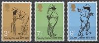 GB 621-23** CENTENARY OF BRITISH COUNTY CRICKET - 1952-.... (Elizabeth II)