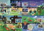"""Lot De 5 Cartes Maximum De 2005 """" JEUX VIDEO : LARA CROFT PAC-MAN RAYMAN MARIO LINK .."""" N°YT 3842 à 3851. Parf état ! CM - Maximum Cards"""