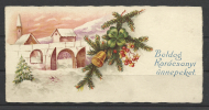 Hungary, Christmas Card, Landscape, ´30s. - Xmas