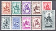 BELGIUM   B   305-14    ** - Unused Stamps