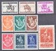 BELGIUM   B   332-41      *   ** - Unused Stamps
