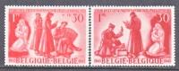 BELGIUM   B   344-5   *   PRISONERS OF WAR - Unused Stamps